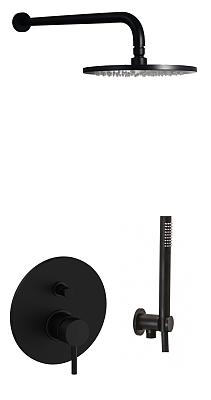 Paffoni Light zestaw podtynkowy czrny SAF-193177.png